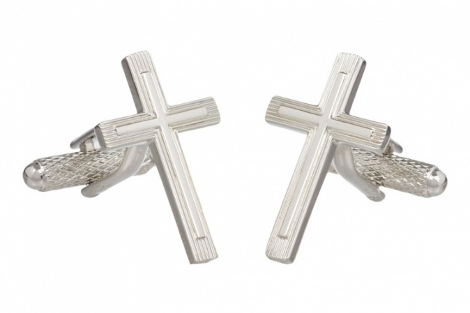Religious Cross Cufflinks